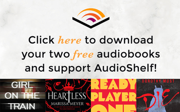 Click Here to Download Your Two Free Audiobooks and Support AudioShelf!